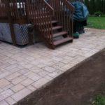 Aménagement paysager de patios pavé-unis Brossard