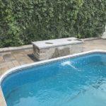 Aménagement paysager de murets et de patios